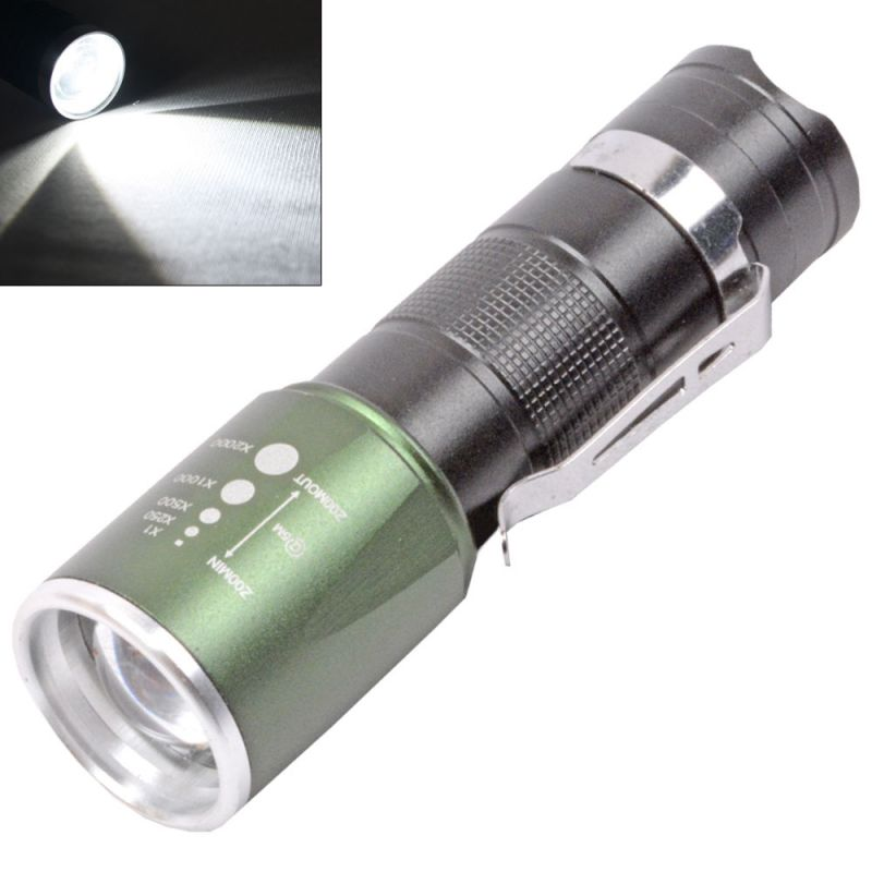Buy 5W Professional LED Torch Lamp Flashlight Light Camping Hike online