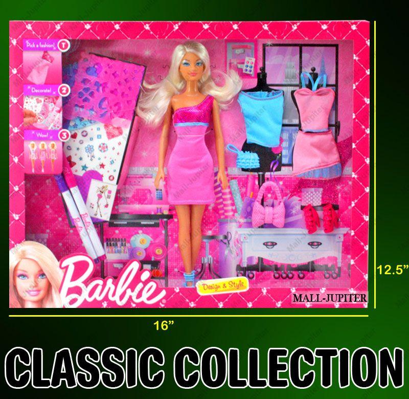 0dddbdff9 Buy Barbie Doll Set Beautiful Dresses Kids Toys Toy Baby Gift -88 ...