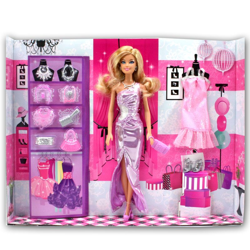 Buy Barbie Doll Set Beautiful Dresses Kids Toys Toy Baby Gift  89 online. Buy Barbie Doll Set Beautiful Dresses Kids Toys Toy Baby Gift  89