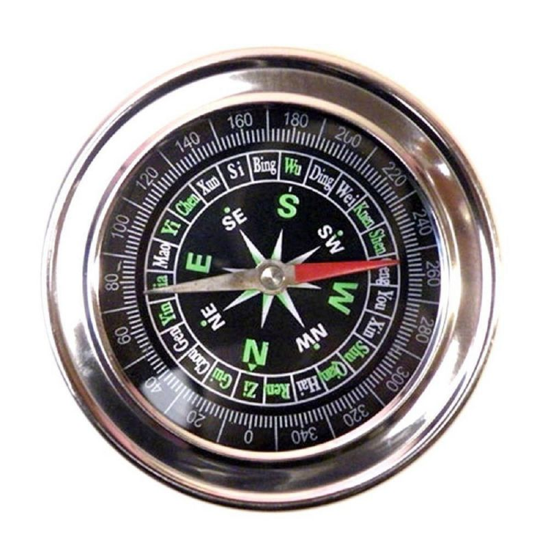 Buy JUMBO Metal Military Magnetic Compass Fengshui Hiking Camping Office online