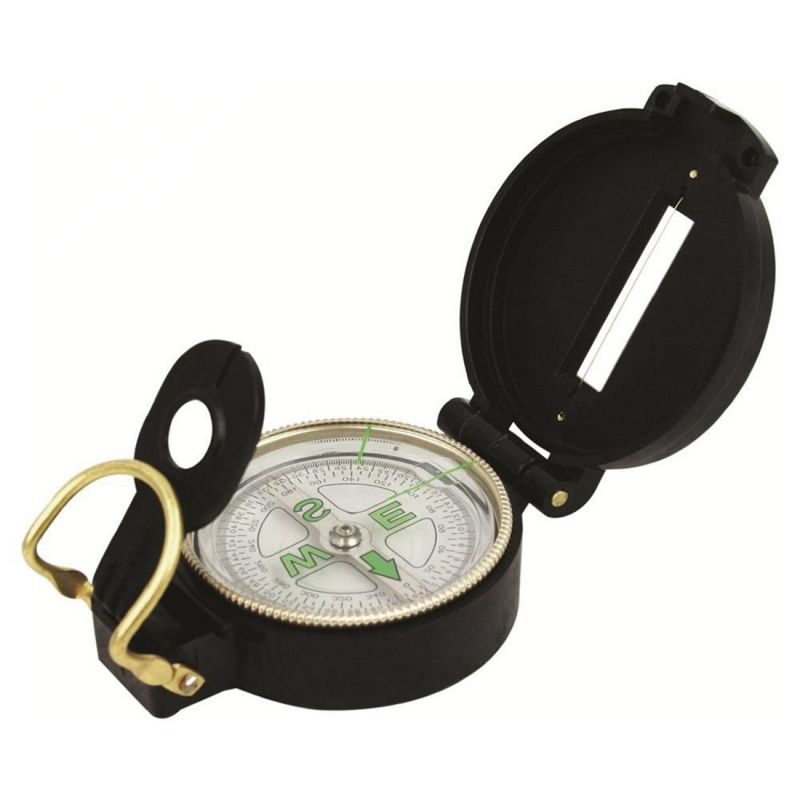 Buy Military Hiking Camping Lens Lensatic Compass online