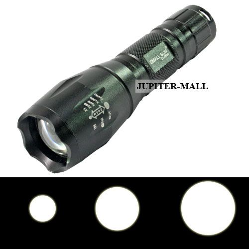 Buy Cree Zoomable Rechargeable LED Waterproof Flashlight Flash Light Torch -25 online
