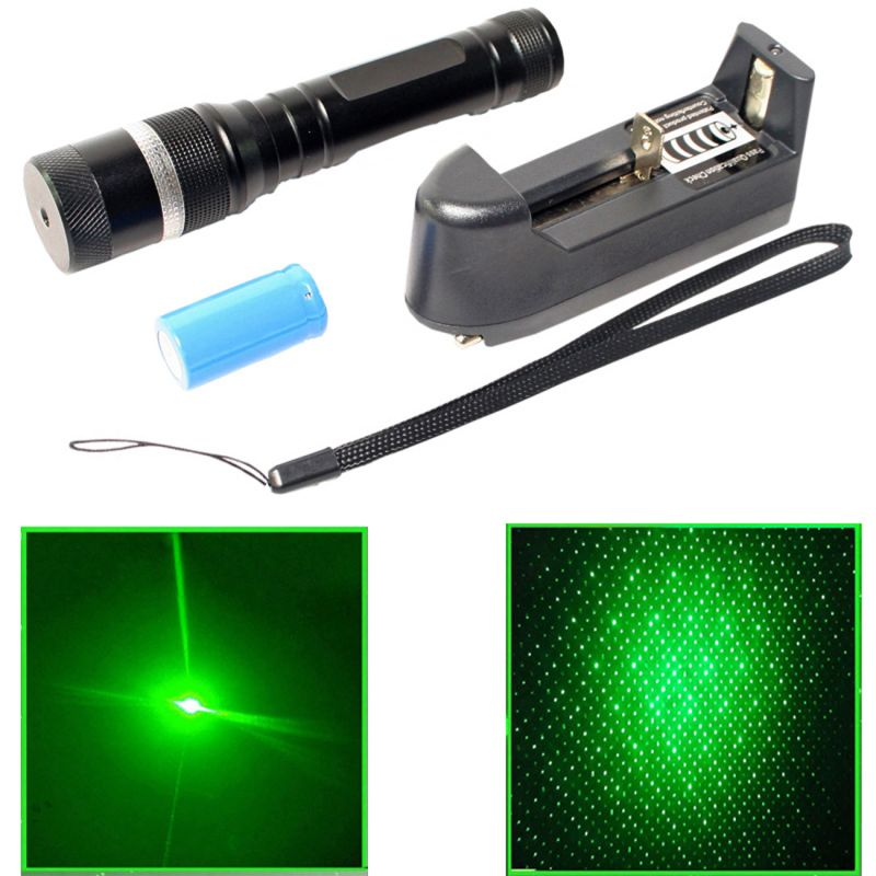 Buy Rechargeable 100 MW Green Laser Pointer Pen Bright 5 Mile Battery Charger (code - Jm Ls Pn 21) online