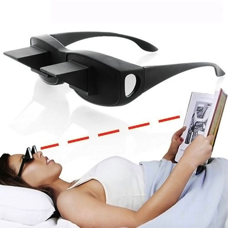 a64c6d103a82 Buy Lazy Eye Glasses Reader 90 Degree Angel Horizontal Book Reading ...