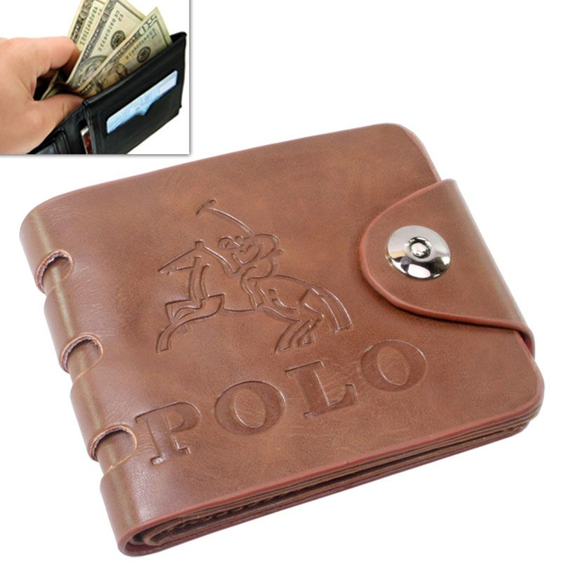 82e183605da7 Buy Mens Leather Wallet Credit Business Card Holder Case Money Bag Purse  -101 online