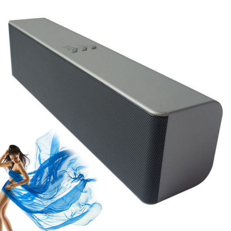 Rechargeable Mini Bluetooth Portable USB TF Card MP3 Player Sound Box  Speaker