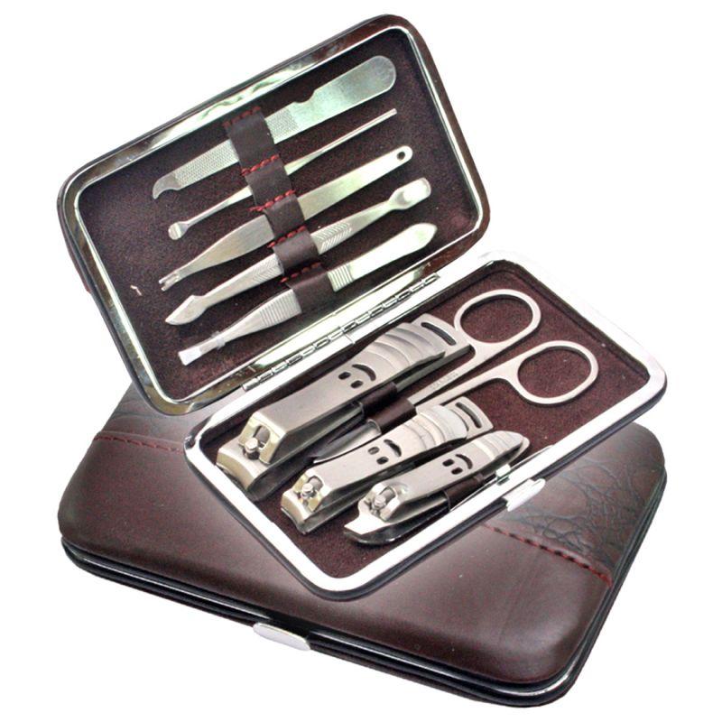 Buy 9 in 1 Nail Art Clipper Pedicure Manicure Tweezer Cutter Earpick ...