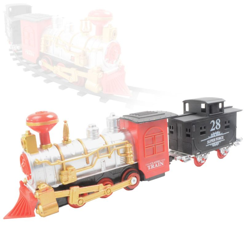 Buy Train Set With Motor Functions Building Blocks Kids Toy Gift Sound online