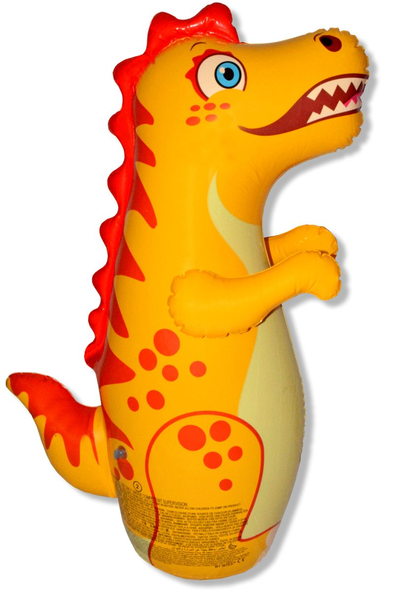 Buy Intex Inflatable Crocodile Hit Me Bop Bounce Back Bouncers Kids Baby Toy online