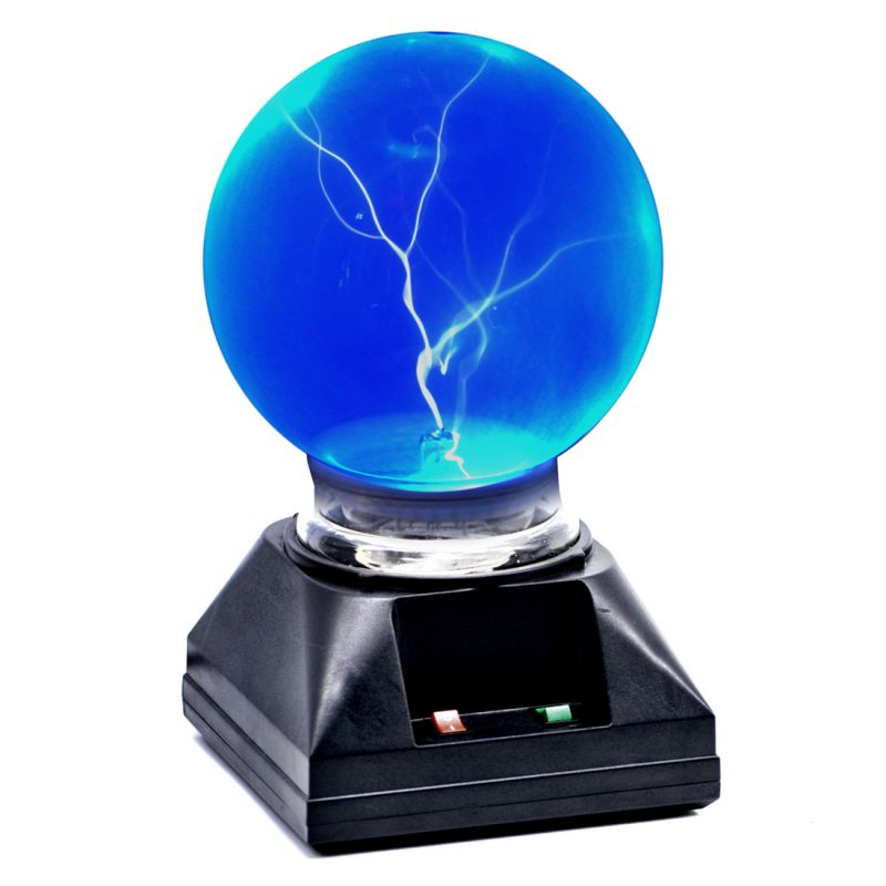 Buy 10cm Plasma Light Lamp Ball Finger Touch And Glow Home Decor Laser (code - Pl Bl 10 A) online