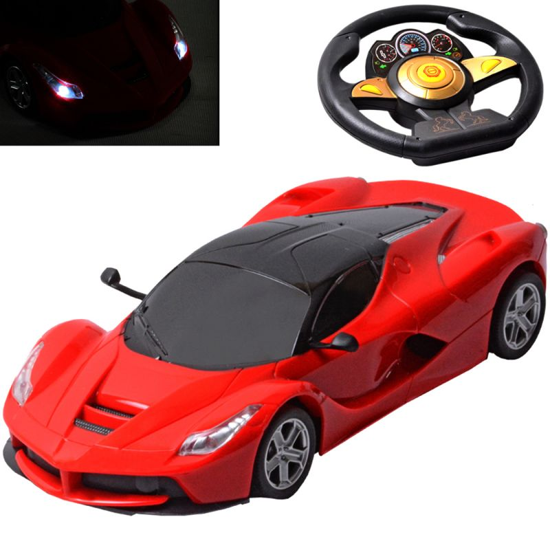 Buy Rechargeable 26CM Big Gravity Induction RC Racing Car Kids Toy Remote online