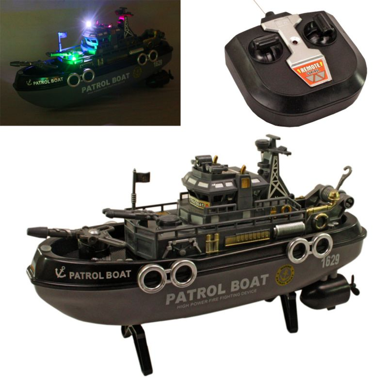 Buy Radio Control RC Racing 30cm Kids Toys Toy Patrol Boat Gift Remote Car online
