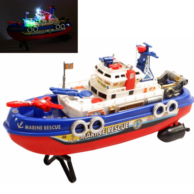 Buy Radio Control RC Racing Kids Toys Toy 30cm Patrol Boat Gift Remote Car online