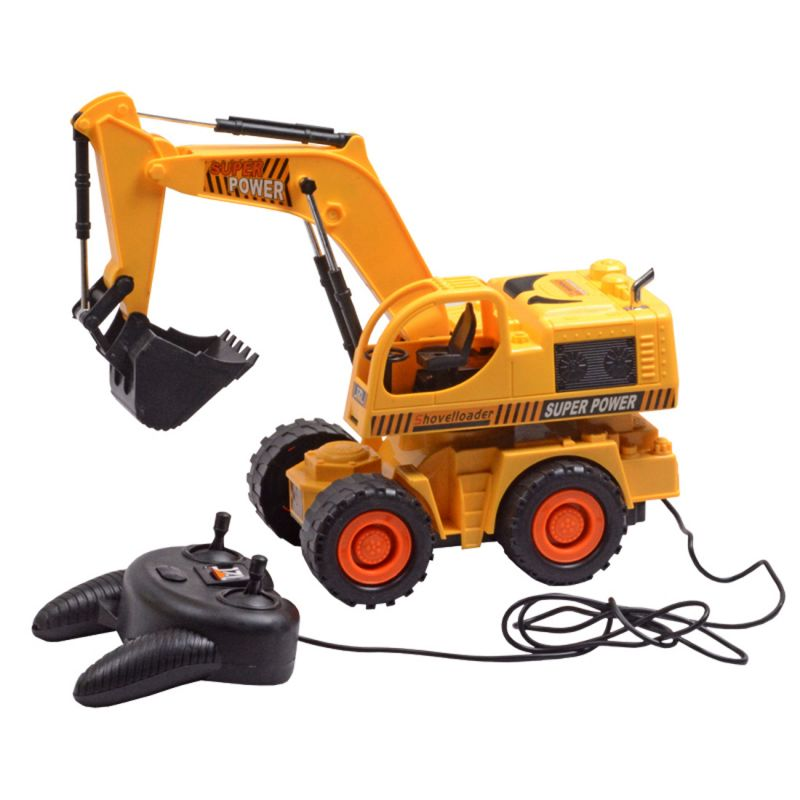 Buy Rechargeable 29cm Remote Radio Control RC Bruder JCB Dump Track Kids Toys online