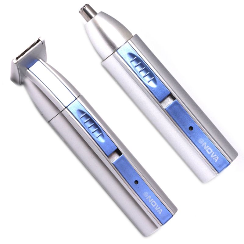 Buy 2 in 1 Cordless Rechargeable Ear Nose Mustache Beard Hair Trimmer online