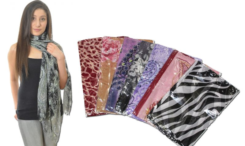 Buy 7 PCs Combo Printed Scarf, Scarves. Stoles online