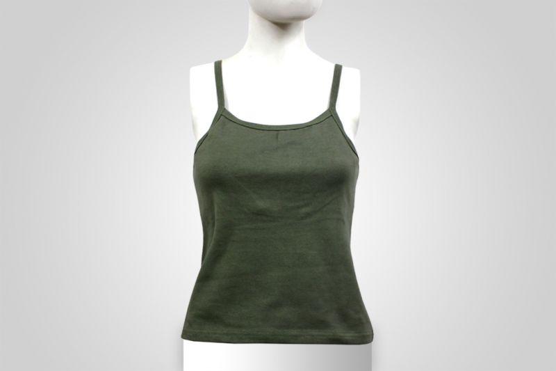 Buy Ladies Sleeveless Sports Tank Top Tshirt Womens Sports Gym Wear Green Color online