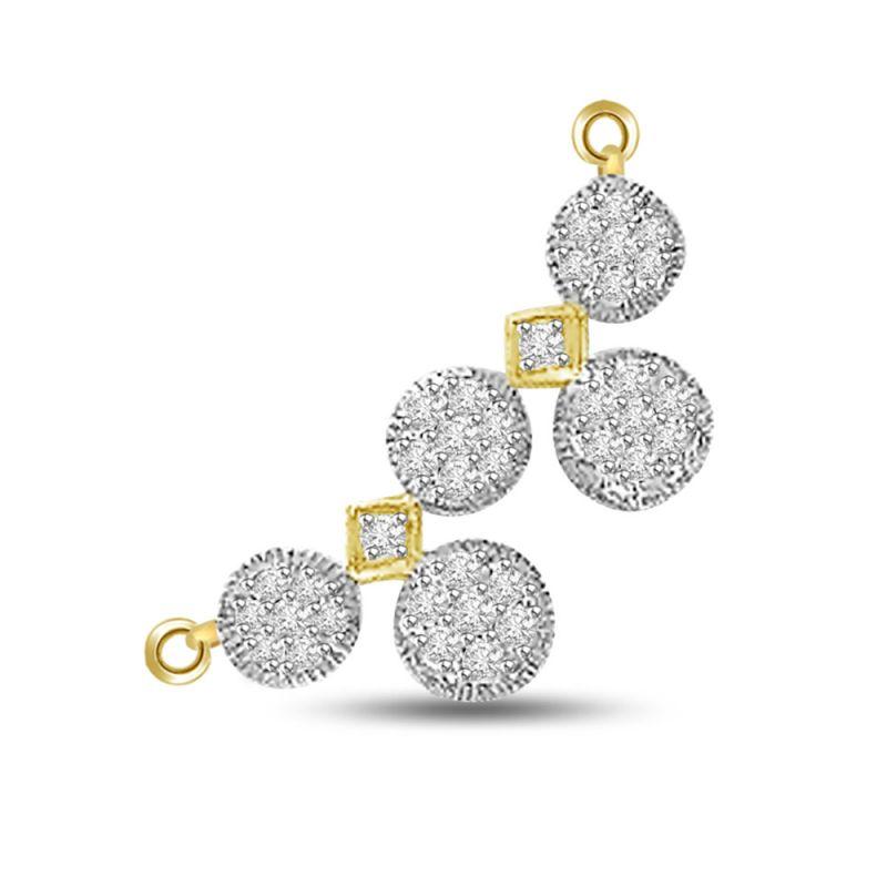 Buy surat diamond 121ct white clean diamond mangalsutra pendant for surat diamond 121ct white clean diamond mangalsutra pendant for her dn312 aloadofball Images