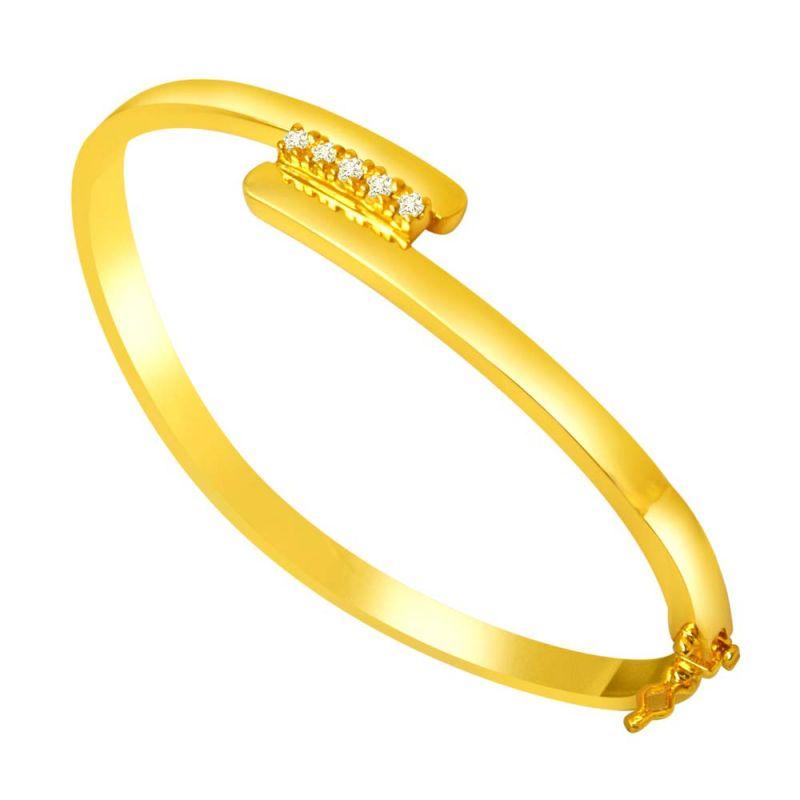 Buy Surat Diamond Expressing Love Bracelet-(slbr6) online