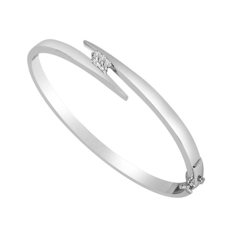 Buy Surat Diamond Sparkling Moon Bracelet-(slbr8) online