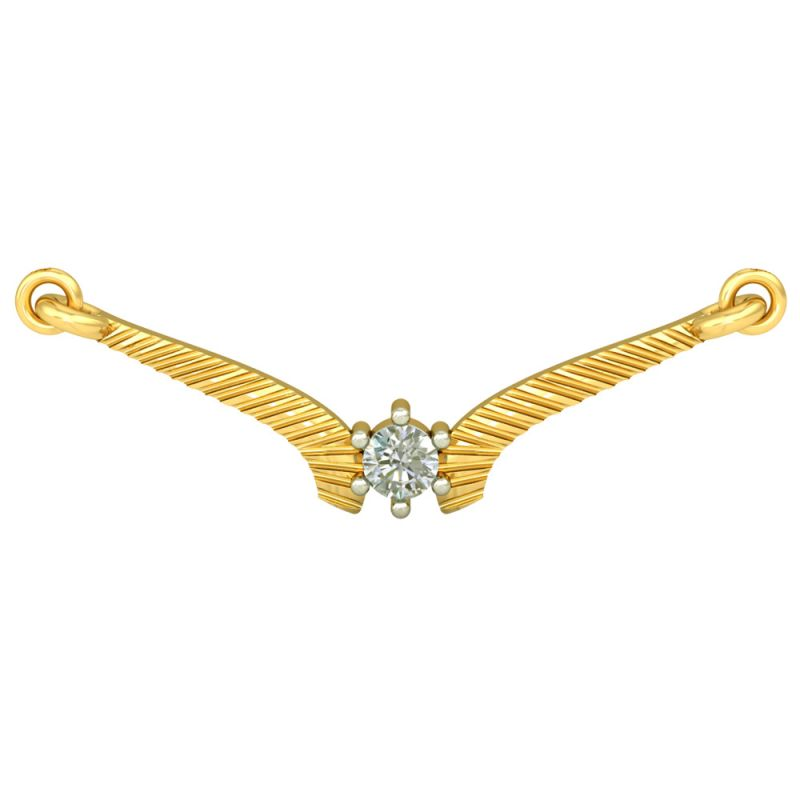 Buy Surat Diamond Soulmate Mangalsutra Pendant -(dn433) online