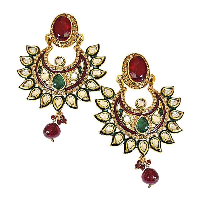 Buy Surat Diamond Aaban Earrings -(pse57) online