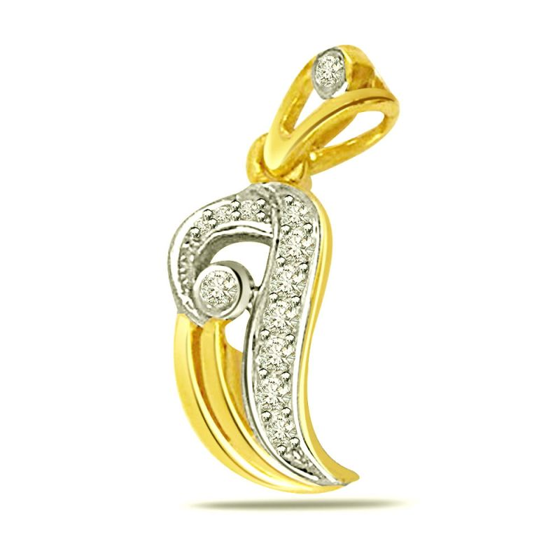 Buy Surat Diamond Fall In Love Diamond Pendant P436 online