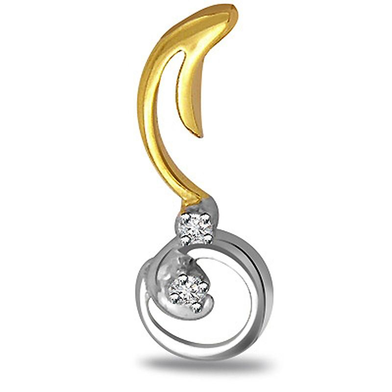 Buy Surat Diamond Melody Of Love Diamond Pendant P442 online