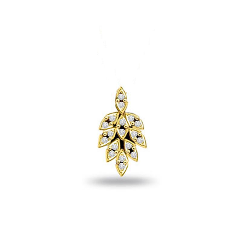 Buy Surat Diamond Leafy Diamond Passion 0.18ct Gold Pendant P495 online