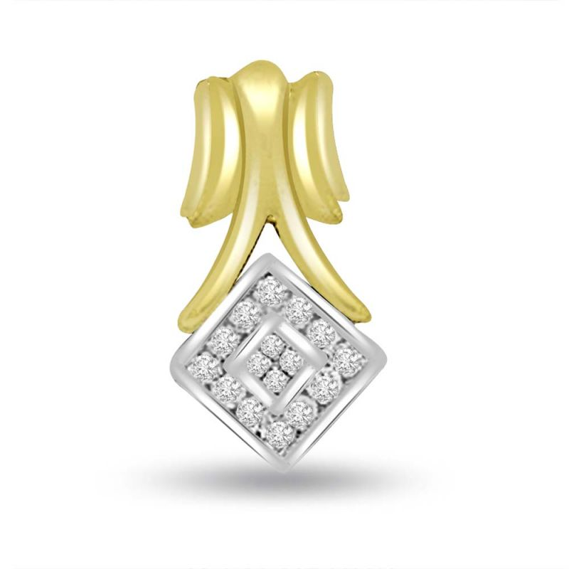 Buy surat diamond geometric shape two tone diamond pendant p702 surat diamond geometric shape two tone diamond pendant p702 mozeypictures Images