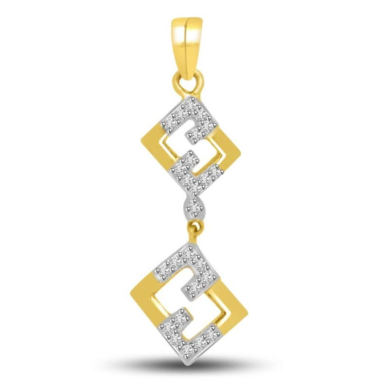 Buy Surat Diamond Love In The Air Diamond & Gold Pendant For Her P722 online
