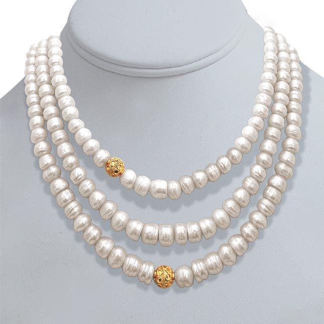 Buy Surat Diamond Pearl N Pretty Necklace Sn244 online