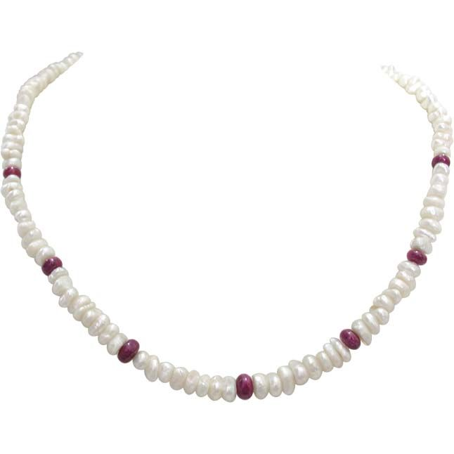 Buy Surat Diamond Pearl Beloved N Beautiful Necklace Sn306 online
