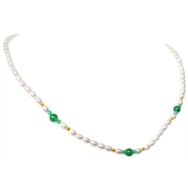 Buy Surat Diamond Pearl Verve Necklace Sn49 online