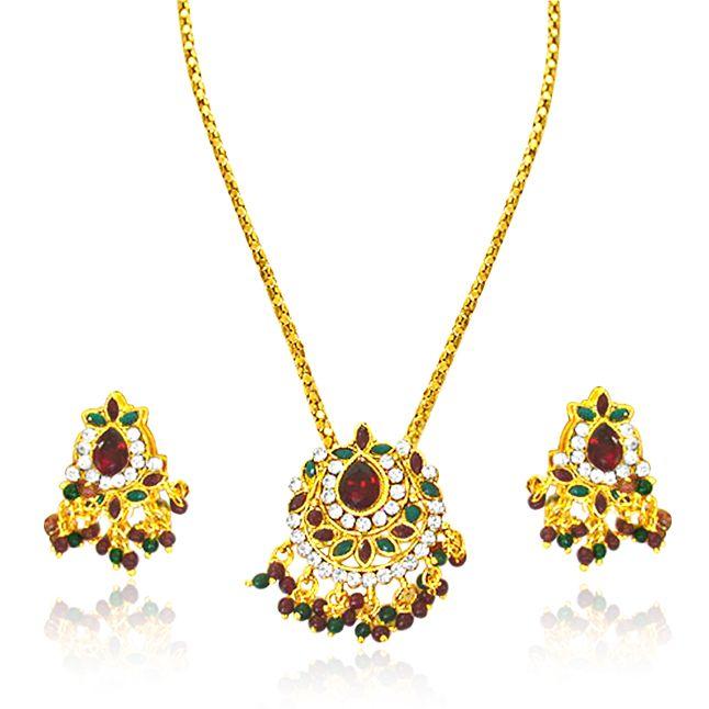 Buy Surat Diamond - Fine Traditional Rajasthani Polki Set -ps4 online