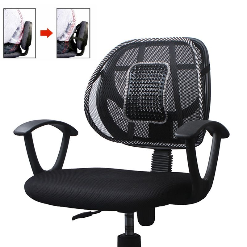 Buy Cool Car Back Seat Massage Chair Lumbar Back Support Cushion Online |  Best Prices In India: Rediff Shopping