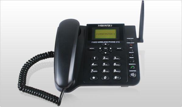 Visiontek 21g Fixed Wireless Phone Desktop GSM Phone