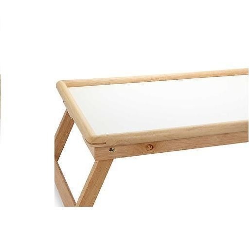 Buy New Wooden Folding Bed Tray, Laptop Table With White Board, Adjustable Size online