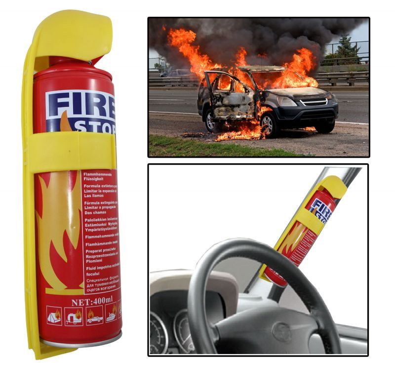 Buy Fire Stop Spray For Car & Home 500 Ml online