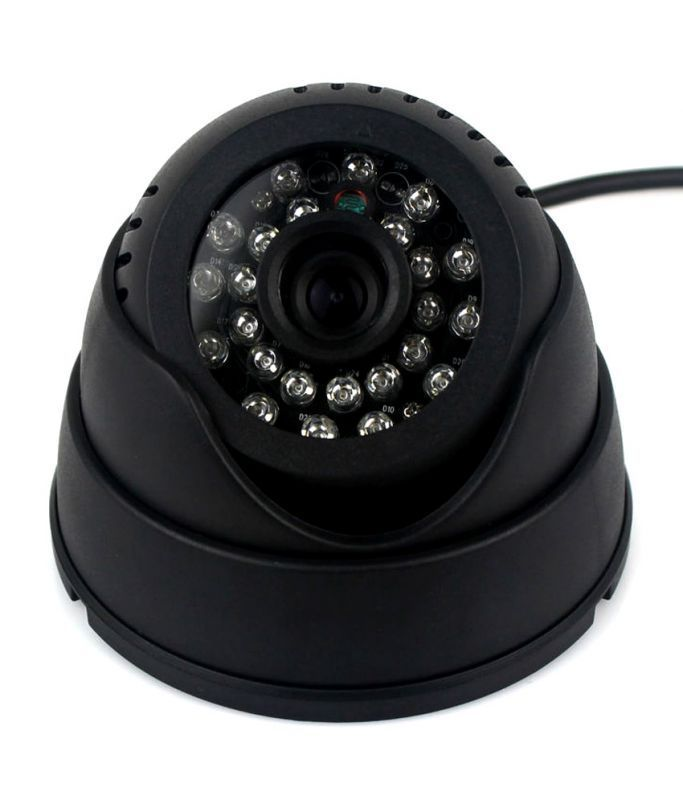 Buy Plug And Play Cctv Dome Camera Video & Audio Recorder With IR And Inbuilt Dvr online