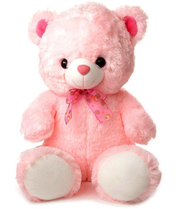 Buy Grj India 12 Inches Teddy Bear - Pink online