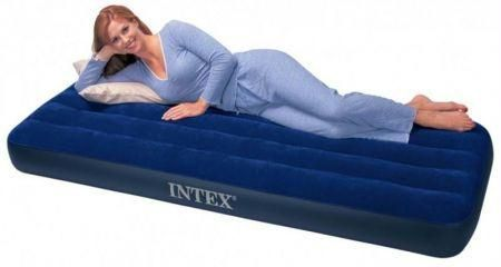 Buy Intex Camping Air Mattress With Foot Pump - Air Bed Inflatable Air Bed online