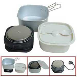 Electric Travel Cooker Traveling Cooking Set Online Best Prices In India Rediff Ping