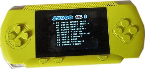 Buy Green Video Game Pocket 25000 Inbuilt Games Connect To TV 2.7 In. Colourscr online