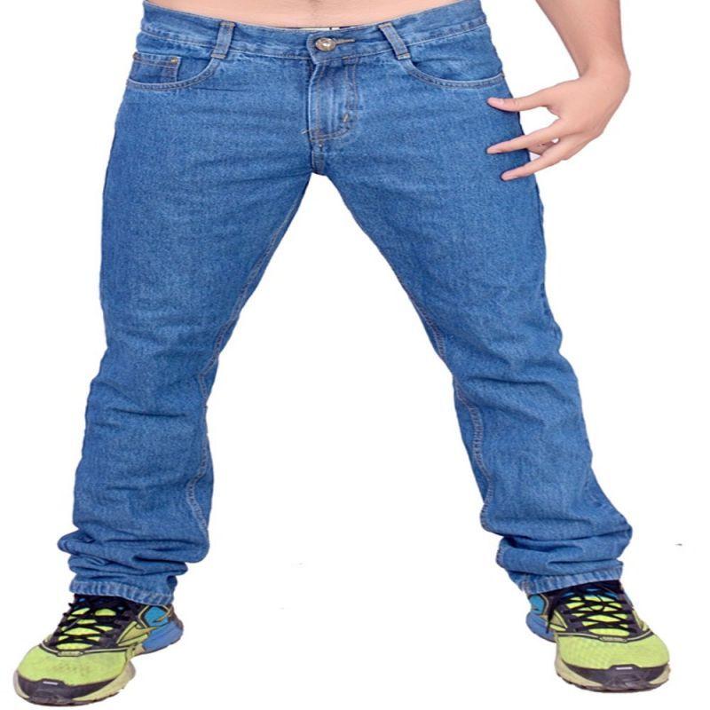 Buy Indmart Cotton Denim Light Blue Jeans online