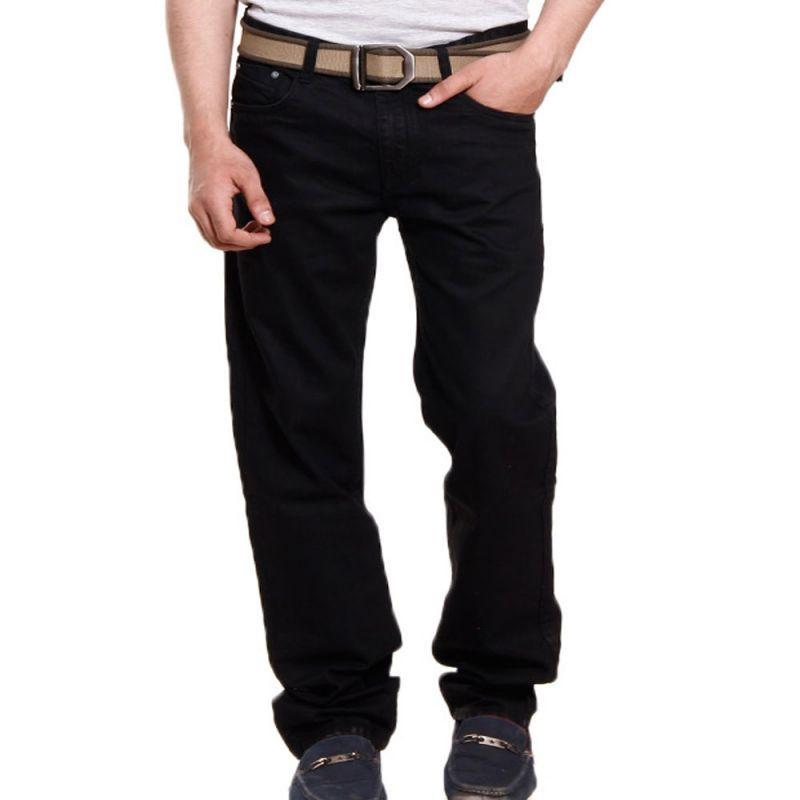 Buy Cotton Denim Black Jeans Stylish N Durable online
