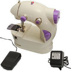 Buy Latest Portable Mini Sewing 4 In 1 Compact Adapter Foot Pedal Machine online
