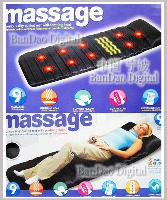 Buy Latest Full Body Massager, Massage Mattress ,mat, Bed /cushion online