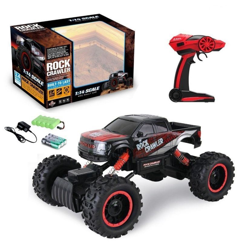 Buy 14 Scale 4wd 2.4 Ghz 4x4 Rally Racing Car Remote Control Mini Rocking Car online