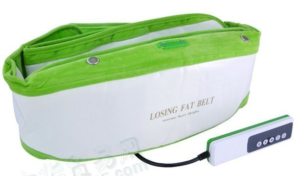 Buy Home Basics Losing Fat Belt Ab Slimming Waist Tummy Vibrating Sauna Vibration Belt online